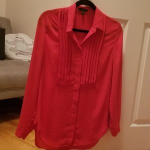 Red J Crew Blouse!